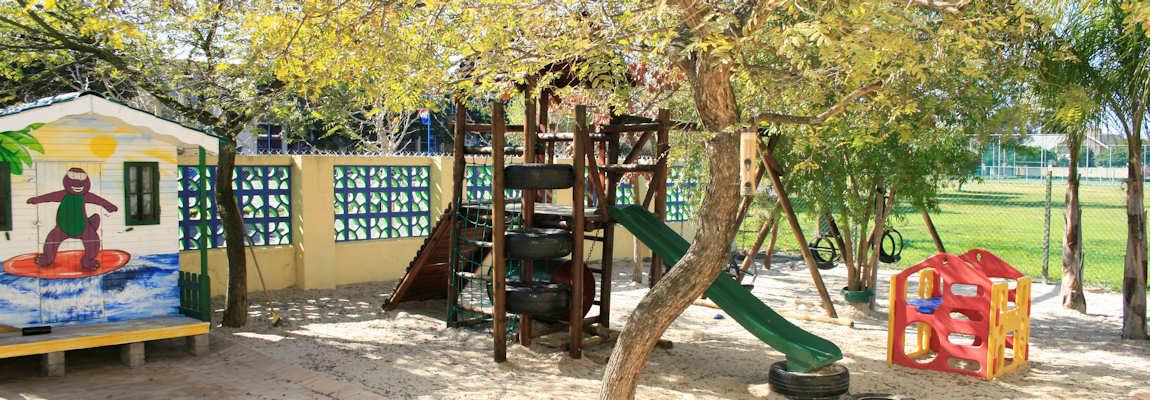 Shady playground