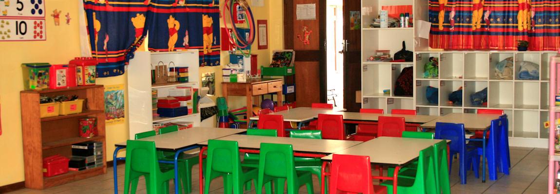 Spacious Classrooms.